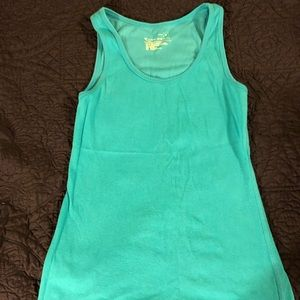 Teal tank top Size Small NWOT